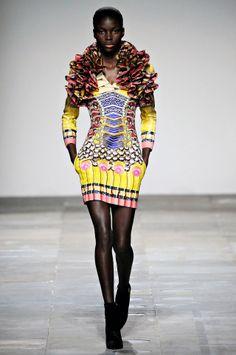 Mary Katrantzou, London Fashion Week 2012