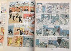 Tintin book illustrations #book #illustrations #tintin