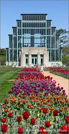 The Jewel Box in Forest Park, St. Louis, MO