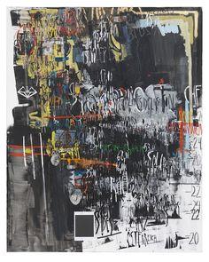 "Despina Stokou – ""Ruin Art Noir"" (2013), mixed material on canvas, 200 x 250 cm; courtesy the artist and Krobath Wien/Berlin"