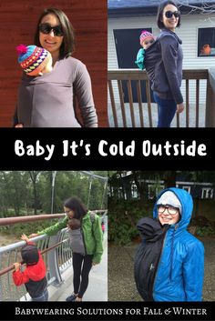 Find out what options are available for babywearing in cold weather! This winter…