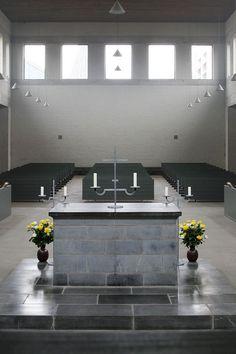 Abdij Sint Benedictusberg Mamelis/Vaals - Dom Hans van der Laan by Dennis Hambeukers, via Flickr