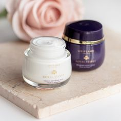 The luxurious Royal Velvet collection delivers a rich and sensual formula infused with iris flower to firm, strengthen along with intensely hydrate your skin 💜 Organic Skin Care, Natural Skin Care, Oriflame Business, Night Face Cream, Oriflame Beauty Products, Beauty And Beast Wedding, Skincare Packaging, Beauty Companies, Skin Firming