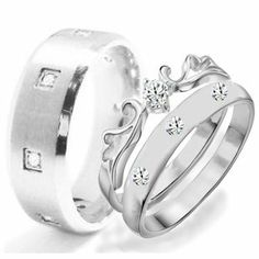 His & Hers 3 Pieces, STAINLESS STEEL Engagement Wedding Ring Set, AVAILABLE SIZES men's 7,8,9,10,11,12; women's set: 5,6,7,8,9. CONTACT US BY EMAIL THROUGH AMAZON WITH SIZES AFTER PURCHASE! KingswayJewelry. $48.55. Engagement. matching set, bridal rings, rings for couples. Bridal