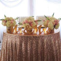 Real Wedding Ideas: Glam