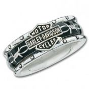 Ladies Harley-Davidson ® Rolling Thunder Spinner Ring