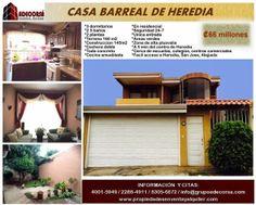 ADECORSA Inmobiliaria - Real Estate: LINDA CASA EN BARREAL DE HEREDIA PARA VENTA