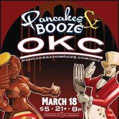Support local underground artists at the Pancakes and Booze Art Show at the Oklahoma City Farmers Public Market in Oklahoma City. While you browse through countless booths worth of unique artwork, bite into fluffy pancakes made fresh to order.
