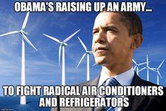 Global Warming, Climate Change, Liberalism, Hoax, Radical Islam, John Kerry, Obama, political memes