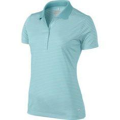 Nike Golf Ladies Tech Stripe Polo 2014 Wilson Golf Clubs, Golf Putters, Golf Shop, Golf Irons, Nike Golf, Golf Outfit, Ladies Golf, Golf Ball, Polo