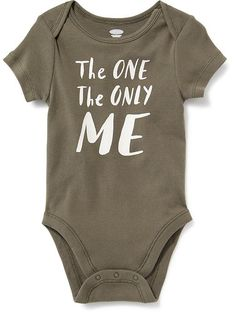 Graphic Print Bodysuit for Baby