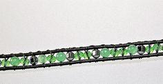 Jeweled Headband  Hair Jewelry Aventurine by Desperer on Etsy, $35.00
