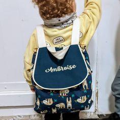 """Elise L on Instagram: """"Une petit sac à dos home made pour mon LittleA. Super patron #sacadosgaspard De chez @janeemilieblog. Facile, et agréable à coudre. Un…"""" Gaspard, Fashion Backpack, Backpacks, Instagram, Small Backpack, Sewing, Bebe, Backpack, Backpacker"""