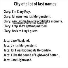 LOL JK. Jace Herondale