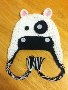 Cow hat. WANT!