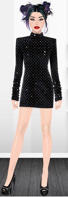 Fashion Stardoll  Jogo de Moda @rafaela.liberal Stardoll : rafaela_liberal Ideias Fashion, Goth, Style, Fashion Games, Dress Games, Latest Fashion, Toddler Girls, Celebs, Gothic