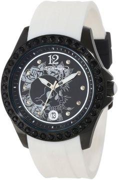73b55564573c Awesome Ed Hardy Women s TE-WH Techno White Watch – Don Ed Hardy