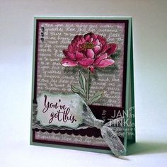 You've Got This - Stampin' Up! (I'm glad someone has it)