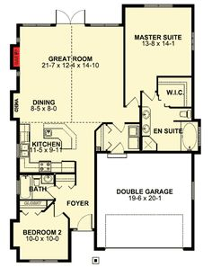 Two Bedroom Cottage - 6750MG | 1st Floor Master Suite, CAD Available, Cottage, Narrow Lot, Northwest, PDF, Photo Gallery, Split Bedrooms | Architectural Designs