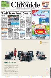 Deccan Chronicle - T will take time: Centre Cops allow deeksha for T till 6 pm today