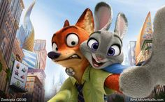Nick Wilde and Judy Hopps making a selfie in pefect quality :} HD only here: www.bestmoviewalls.com/directo…