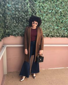 The Did Denim Right With These 4 Trends 70s Fashion, Fashion Trends, Denim Trends, Hold Ups, Who What Wear, Jeans Style, Duster Coat, Personal Style, Cool Outfits