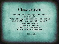 38 best helen keller images on pinterest great quotes quote life quote on character by helen keller altavistaventures