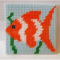 Fish Tapestry Kit: Amazon.co.uk: Toys & Games