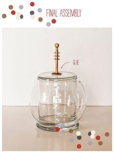 Sweet DIY: Space Helmet Candy DishTutorial - Blog - Hello My Sweet