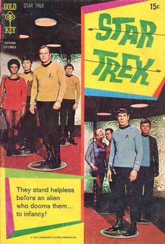 Star Trek #8 Gold Key September, 1970