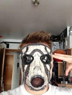 #Borderlands Psycho Mask via Reddit user Workoutfreeyoursoul