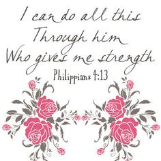 Philippians 4:13 - Digital Scripture from PatiHomeDecor on