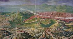 Pian dei Giullari - is the hilly zone outside of Florence where Sophia first goes to live upon her arrival in Florence