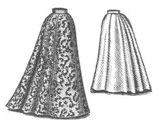 Skirt is very late Victorian, but is the most functional one I could find that I liked at all.