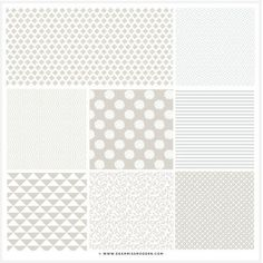 Image of Shades of Grey Patterns -- GREAT blog design shop for ready to use elements