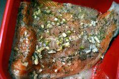 Somon la tigaie cu cartofi noi si salata de legume (de post, dezlegare la peste) Meatloaf, Steak, Pork, Salads, Kale Stir Fry, Steaks, Pork Chops
