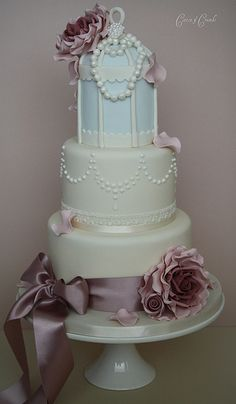 Another birdcage cake ! | by Cotton and Crumbs