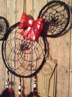 Minnie Mouse Dreamcatcher by OliviaSueDesigns on Etsy