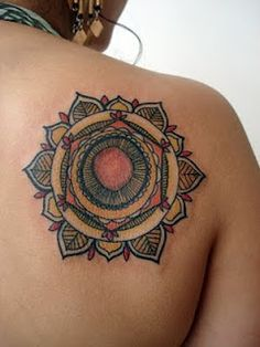 David Hale of Love Hawk mandala tattoo...swooon....