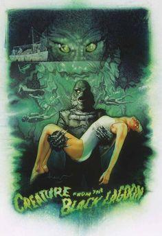Movie Monsters by Drew Struzan.