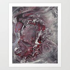 Ladybug Abstract 2 Art Print by Jessica Ann Lane Taunton - $17.68