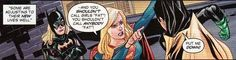 Neither are Batgirl and Supergirl, especially from ignorant hero spawn. | 23 Times Lady Superheroes Were 1000% Done