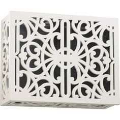 Buy the Quorum International Studio White Direct. Shop for the Quorum International Studio White x Traditional Surface Mount Door Chime Grill Cover and save. Door Bell Chime Cover, Doorbell Cover, Doorbell Chime, Home Accessories, Grilling, Home Improvement, Decorative Boxes, Traditional, Outdoor Decor