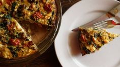 The most delicious breakfast pie you'll ever find on your plate. #quinoa #eggs #breakfast #yum
