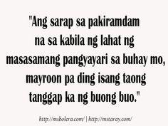 Fresh Tagalog Love Quotes Pinoy Quotes, Tagalog Love Quotes, Hugot, Burns, Fresh, My Love, Tags, Board, Mailing Labels