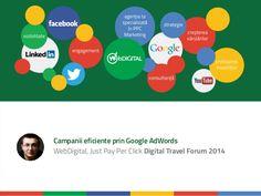 Campanii eficiente de PPC Marketing pentru Turism by Ionuț Munteanu  @Tecomm 2014 Cluj - Travel Forum