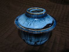 Gaiwan for tea. Is not the blue color beautiful?