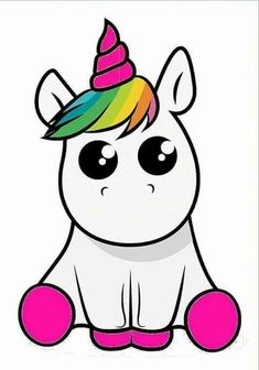 Imagenes De Unicornio Para Colorear Kawaii Resultado De Imagen Para