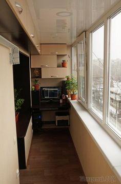 Ремонт однокомнатной квартиры от А до Я, 2 этап - лоджия