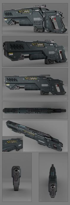 Battle rifle concept by peterku on deviantART: